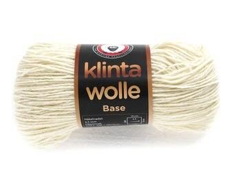 wool yarn,  Latvian wool yarn, knit yarn DK weight, white Latvian yarn, knit yarn, sheep wool,  warm knit yarn, 100 g 3.53 ounces