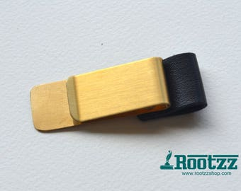 Penloop clip black - pen holder - traveler's notebook - planner