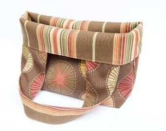 Medium Market Bags - Stripes & Blooms