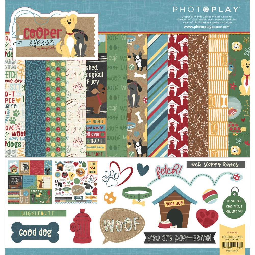 Scrapbook paper collections -  13 49