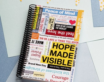 Hope Made Visible Daily Planner 2017