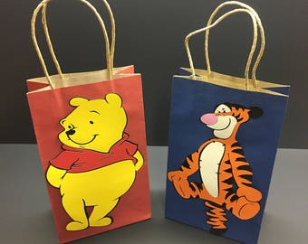 Winnie the Pooh Favor Bags