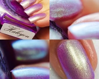 """P•O•P Polish """"Halcyon"""" Nail Polish Quick Dry Ethereal Winter Iridescent DuoChrome Mirror MultiChrome"""