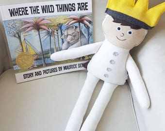 Max Doll/Plush/Where the Wild Things Are/ Plushie