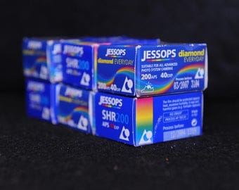 APS Jessops Expired / discontinued ISO 200 Film for APS Cameras - analogue photography - free uk shipping