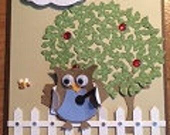 Medical Owl Greeting Card