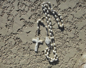 Vintage  Rosary Beads/Catholic Rosary/Traditional Rosary/,Crucifix and Beads, Prayer Beads