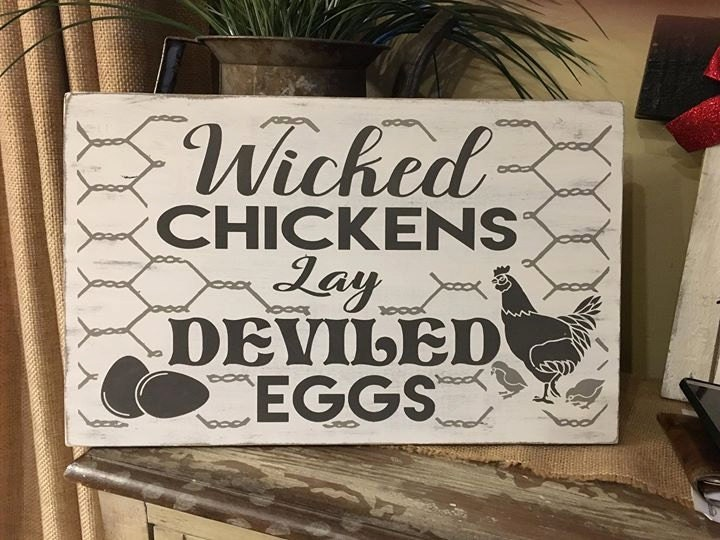 Wicked Chickens Lay Deviled Eggs Svg Png Jpeg