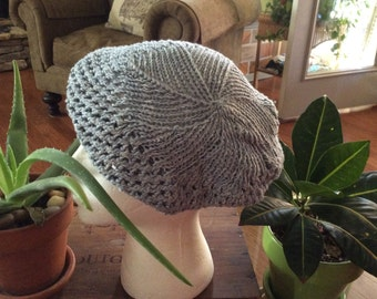 Hand Knitted Tam Hat