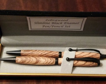 SALE**Wood Pen/Pencil Set
