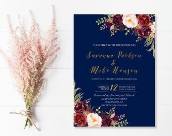 Wedding Invitations Etsy CA