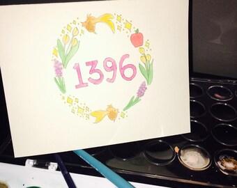 Persian New Year Card/Set of 10