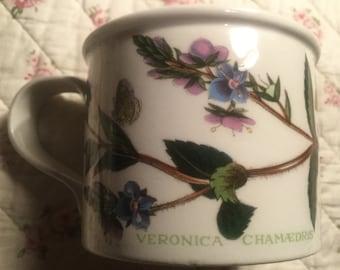 Portmeirion Botanic Garden Teacup and Saucer - Speedwell