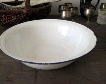 enamel bowl vintage