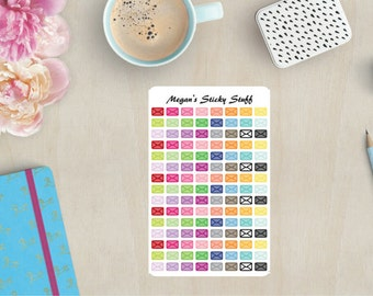 Envelopes Functional Planner Stickers