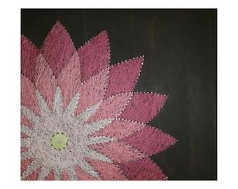 String Art- Flower