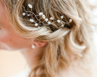 Tiara withs Chrystals and pearls