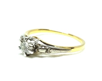 Antique Diamond Ring | Antique Ring | Art Deco Ring | 1920s Ring | Diamond Ring | 9ct Ring | Gold Ring | Engagement Ring | Diamond Ring