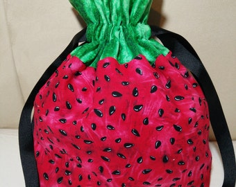 Watermelon Sock Drawstring