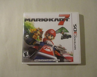 Mario Kart 7 Custom 3DS Case (***NO GAME***)