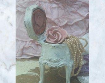 Beautiful French Antique French Jewellery Casket, trinket box