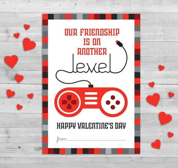 video game valentines day card gamer valentines boys, Ideas