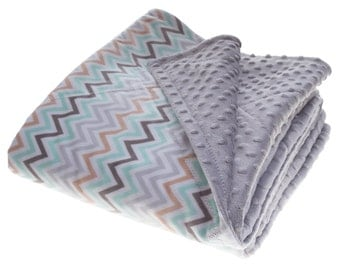 """Ready to ship double minky adult blanket, 57"""" by 68"""" double minky blanket, XL size minky blanket, minky blanket with batting, warm blanket"""