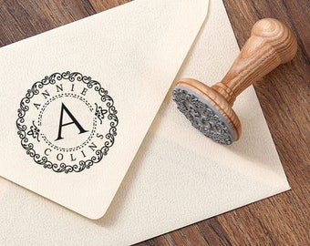 PERSONALIZED STAMP GIFT - Personal Stamp Gift - Ex Libris Stamp Gift - Initial Rubber Stamp - Book Rubber Stamps