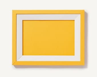 Citrine Yellow Foldable Paper Frame
