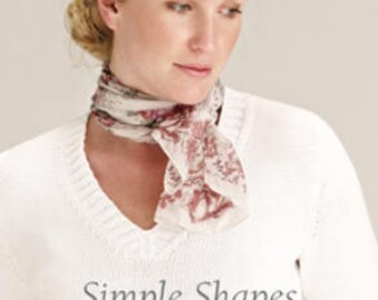 Rowan Simple Shapes Cotton Glacé by Martin Storey ref ZB131 8 Knitting Patterns for Women
