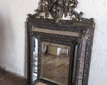 venetian mirror etsy. Black Bedroom Furniture Sets. Home Design Ideas