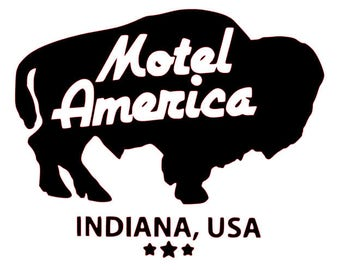 American Gods - Motel America - American Gods Decal