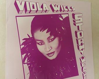 Viola Wills - Stormy Weather - Vinyl LP Record Album - SNG-001