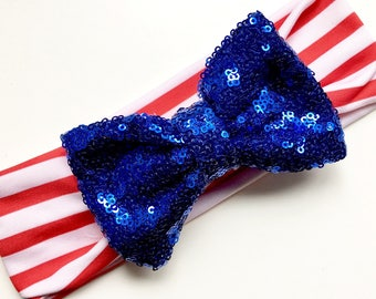 4th of July headband, Fourth of July, baby girl, big bow headband, babies, top knot, bodysuit, Independence Day, 4th of july onesie