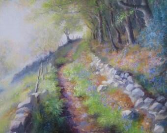 Lane Along Side Wade Wood, Jerusalem Farm, Wainstalls