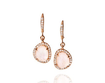 La Vie en Rose Drop Earrings