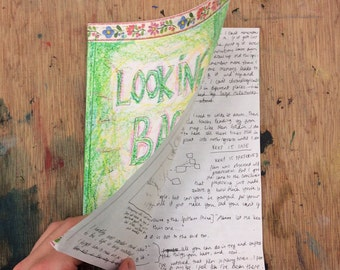 Looking Back: a sketchbook perzine