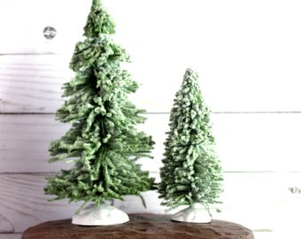 Miniature Trees Woodland Greenery Faux Greenery Woodland Decor Faux Miniature