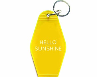 Hello Sunshine Key Tag