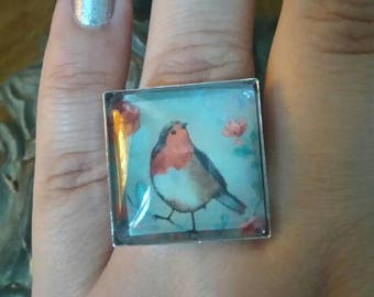 Square ring 'bird'