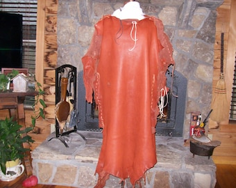 Deerskin Leather Dress