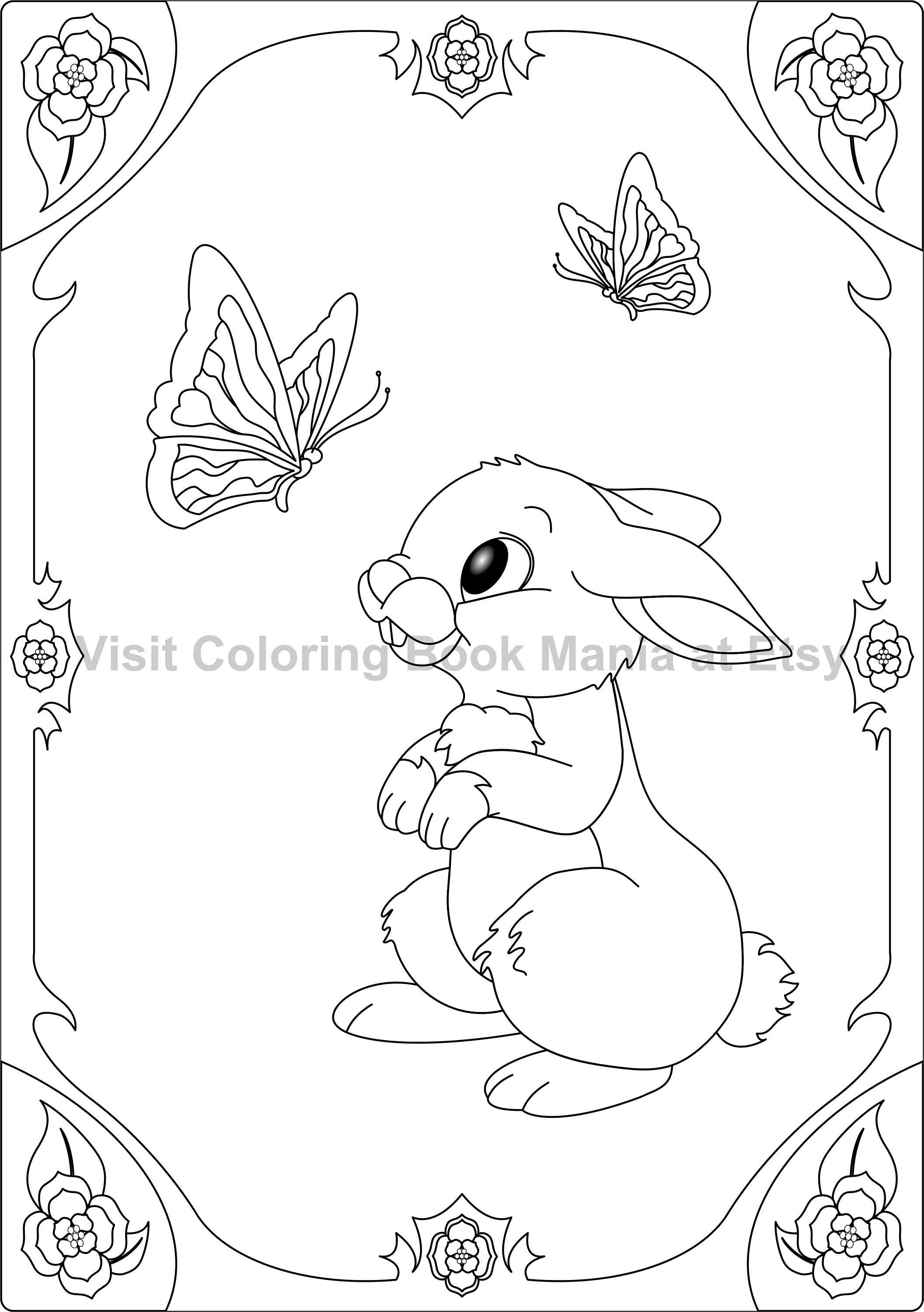 The coloring book of cards and envelopes flowers and butterflies - Coloring Book Mania
