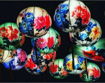 Chinese Lanterns - 8x10 fine art home decor print