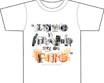 LOVE is friendship set on fire, 17thC quote,Valentine tee shirt gift for him or her