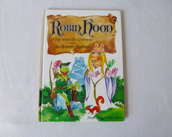 Robin Hood starring Jim Henson's Muppets - Hardcover 1980 First Edition