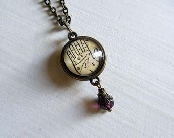 Palmistry Pendant Necklace