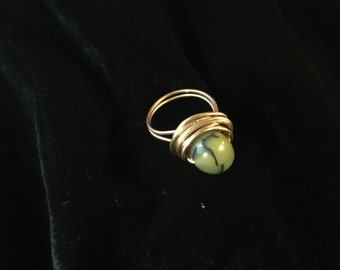 Dragon's agate ring