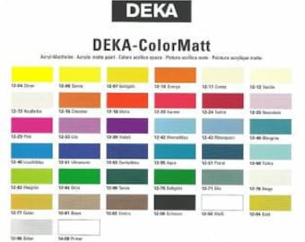 DEKA Colormatt 25 ml umber HA-031283-25
