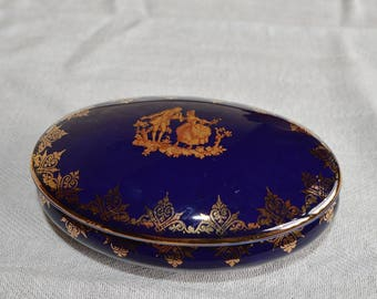 COLLECTOR BOX PORCELAINE