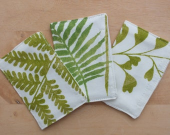 Fern Scented Sachets, Scent Packs Refillable, Fragrance Drawer Sachet